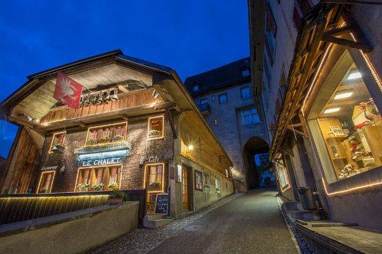 Chateau-d ' Oex, Suíça: Le Chalet