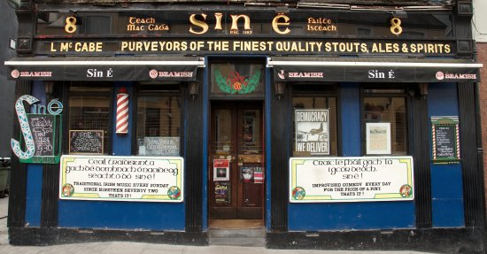 Sin e: Out front
