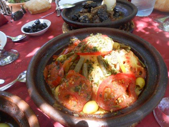 Ourika Garden: tajine au légumes berbère