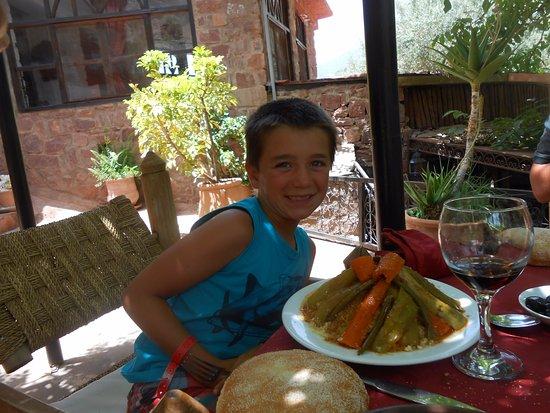 Ourika Garden: couscous legumes