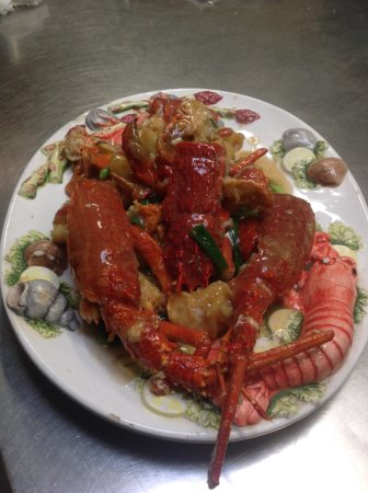 Robe, Australien: Ginger and Shallot Lobster: Special Request