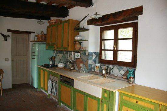 Azienda Agricola & Agriturismo Pachamama presso podere Tepolino : Cucina