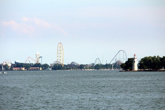 Cedar Point and Marblehead Lighthouse