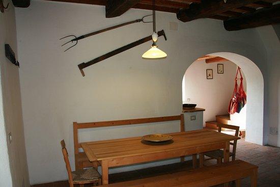 Castel Del Piano, Italy: tavolo sala da pranzo