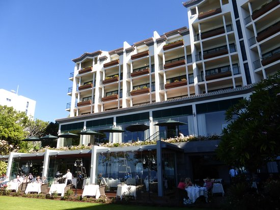 Hotel The Cliff Bay: The Rose Garden breakfast room