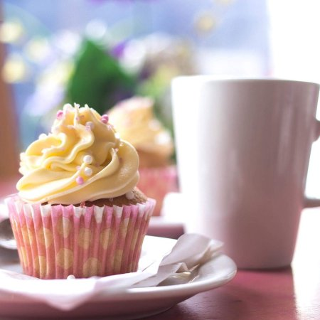 Kinghorn, UK: Nicolas Cupcake Cafe