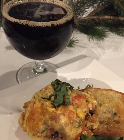 Camp Hill, Pensylwania: Tomato Gratin Pie with Ever Grain Stout