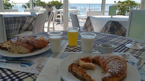 جراند هوتل باليستريري: colazione dal buffet