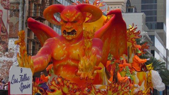 Image result for new orleans mardi gras demon