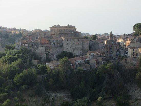 Vista dall'Hotel Belvedere di Mentana