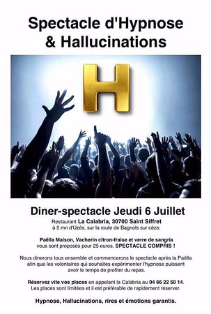 Saint-Siffret, Γαλλία: Jeudi 6 Juillet 2017
