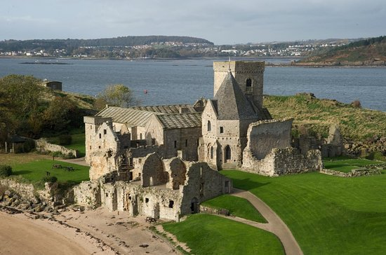 ‪Inchcolm Abbey and Island‬