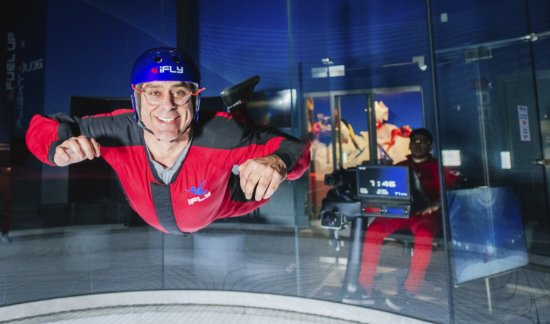 Overland Park, KS: Bring out your inner superhero and experience the thrill of flying.