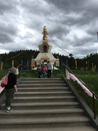 Red Feather Lakes, CO: The Great Stupa of Dharmakaya