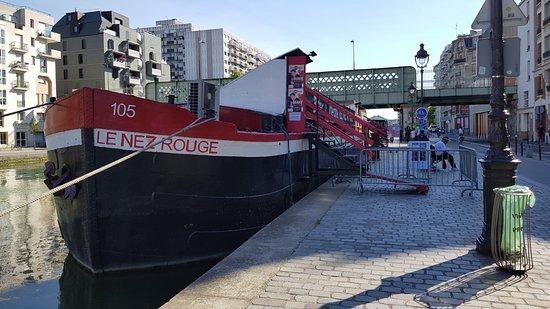 bateau theatre le nez rouge