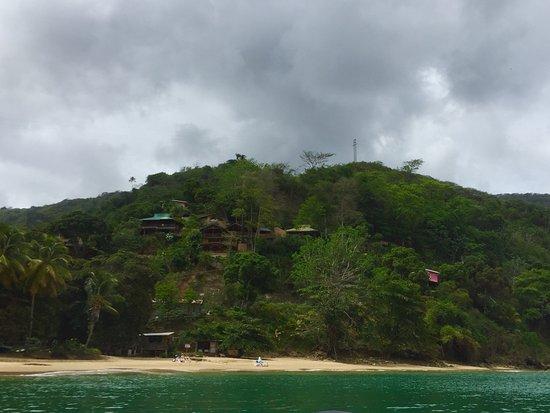 Leaving Castara Bay