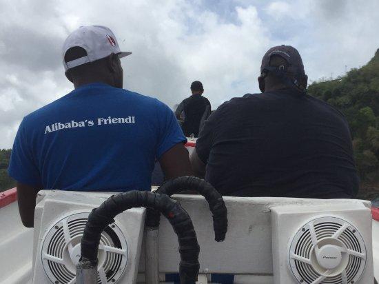 Castara, Tobago: Alibaba & Friend!