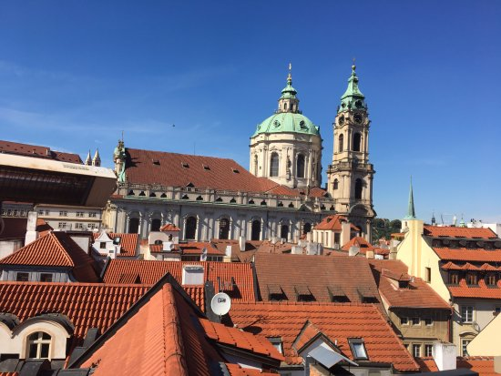 Aria Hotel Prague by Library Hotel Collection: View from the roof top terrace