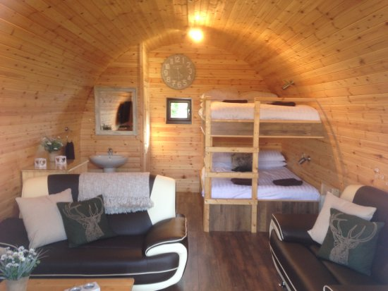 Inside Glamping Pod Picture Of Cheshire Glamping Pods