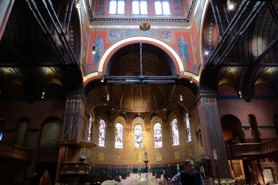 Trinity Church: Inside of church
