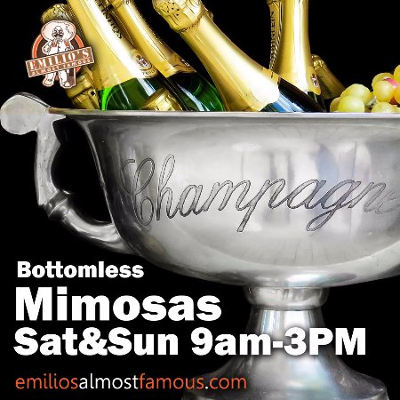 Westminster, CO: Bottomless Mimosas Sat-Sun 9am-3pm