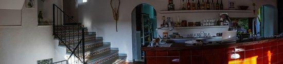 Estellencs, Spain: the bar