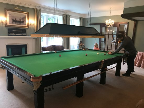 Edinbane, UK: Billiards Room