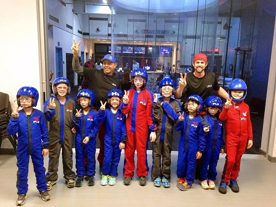 Hurst, TX: At iFLY we specialize in a one-of-a-kind flight school program for kids!