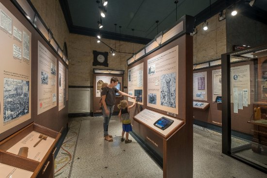 Bloomington, IL: Exhibits encourage multi generational interaction and learning
