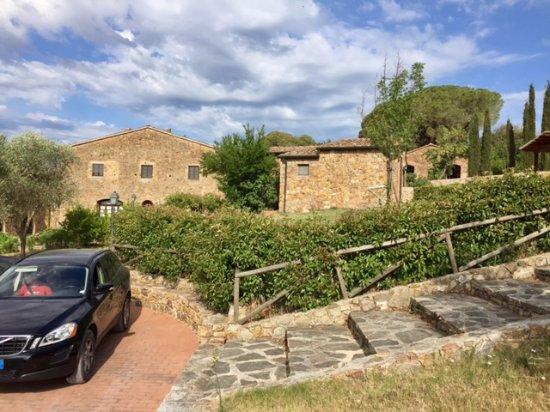 Campiglia Marittima, Italia: Parte superiore del borgo