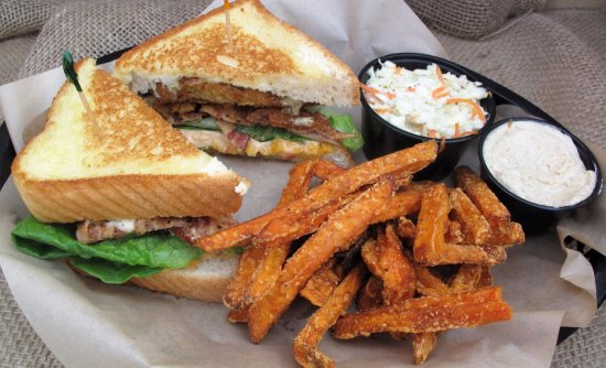 Waynesboro, VA: Our Signature Mindy's Favorite BLT with hearty Sweet Potato Fries, Honey Butter, and Homemade Sl