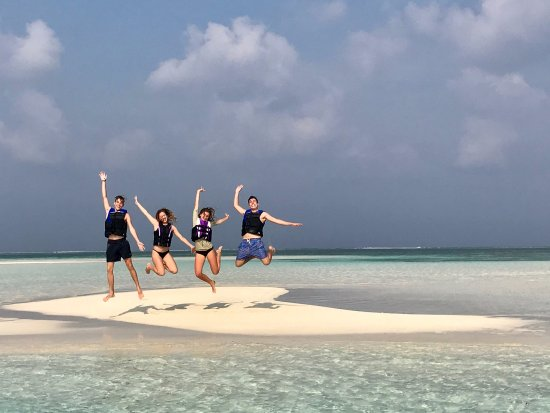 Lhaviyani Atoll: A trip to one of many sand banks around Cocoon Maldives.
