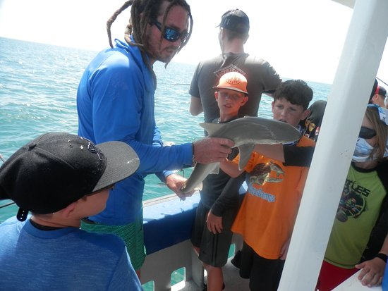 Merry Pier: WOW...Look what that young fisherman brought in.