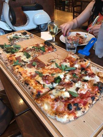 pizza metro london