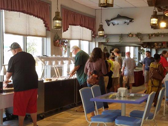 Surprising Buffet Line Picture Of Rusty Rudder Restaurant Wildwood Interior Design Ideas Lukepblogthenellocom