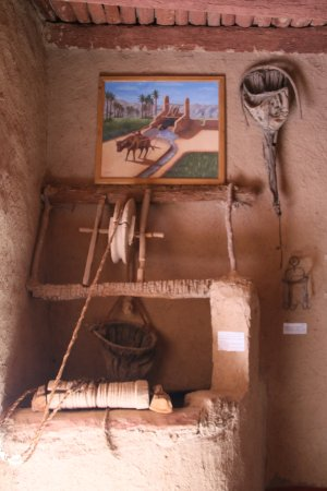 Tinejdad, Morocco: Part of the Berber museum