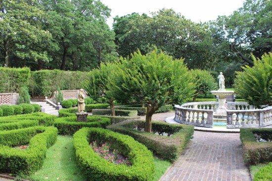 Manteo, Kuzey Carolina: Sunken garden