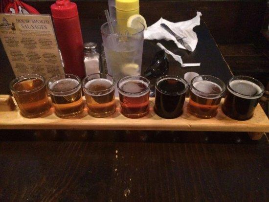 Jarvisburg, Karolina Północna: Flight of their beer