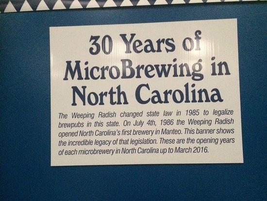 Jarvisburg, Karolina Północna: NC's 1st micro-brewery