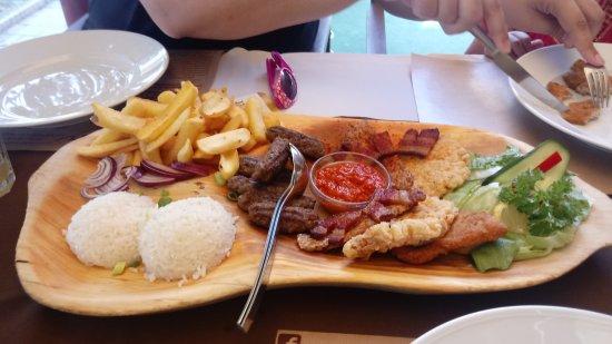 Harkany, Hungria: food