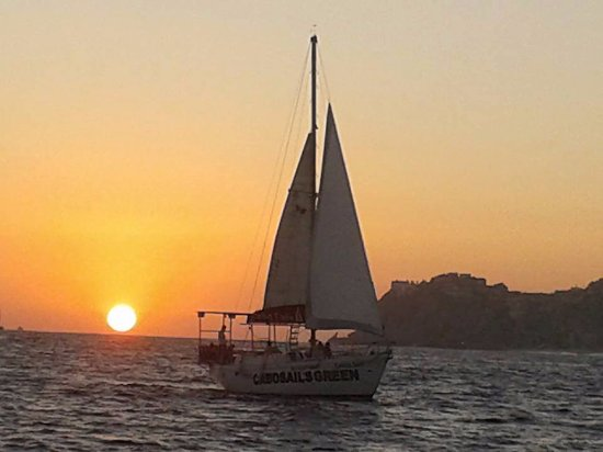 Private sunset sailing with Cabo Sails very accommodating crew in beautiful Cabo San Lucas Mexic