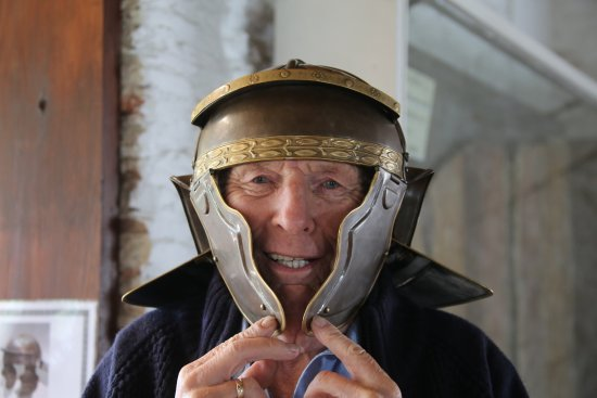 Pulborough, UK: Dressing up Roman styley