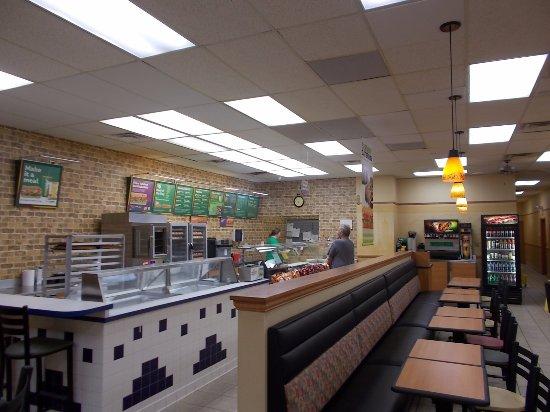 Subway Sandwich Shop, Linden, Michigan.
