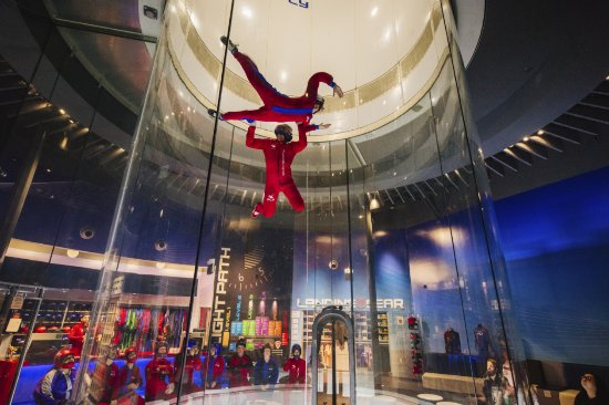 Rosemont, IL: Thrill-seekers can add on a high flight to blast up twice as high!