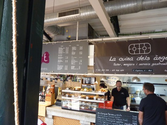 Mahon, Spanien: stall