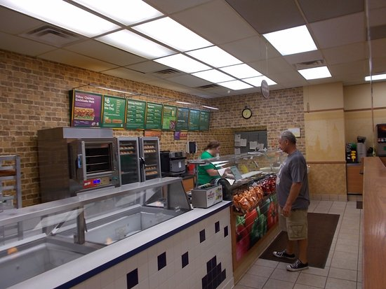 Subway Sandwich Shop, Linden, Michigan.