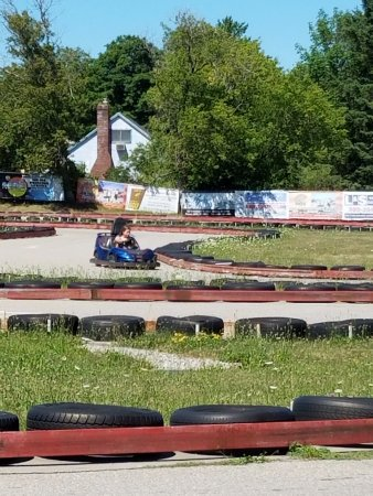 Alpena, MI: Go-carts at Arzo