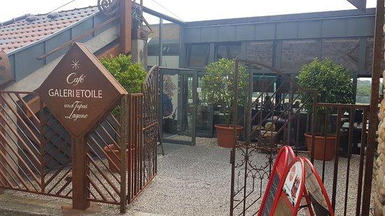 Breisach am Rhein, Tyskland: Cafe Etoile