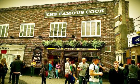 Famous cock tavern