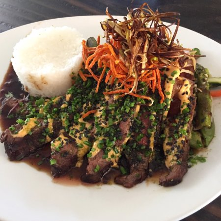 Lake Oswego, OR: Korean BBQ flank steak